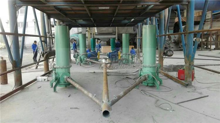 多台xpj导hang站输送泵安装现场